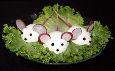 How to make edible mice
