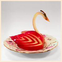 Swans from apples - simple!