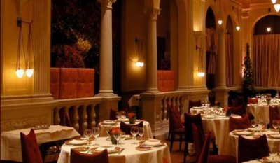 Daniel - aristocratic restaurant in New York.