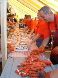Scottish lobster festival.