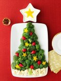 Edible Christmas trees for the holiday table.
